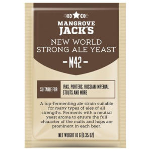 Дрожжи Mangrove Jack's New World Strong Ale M42