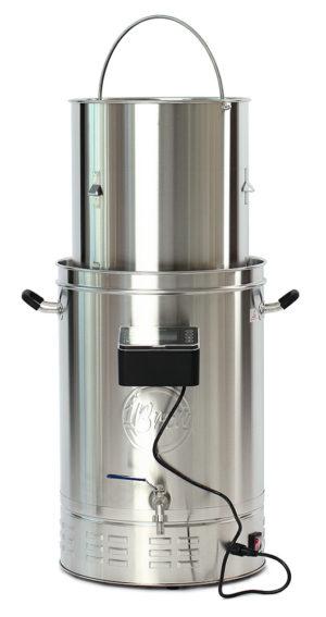 Пивоварня iBrew 40 Master с поднятой корзиной