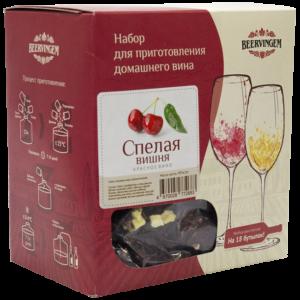 """Набор для приготовления домашнего вина """"Спелая вишня"""""""