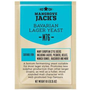 Дрожжи Mangrove Jack's Bavarian Lager M76